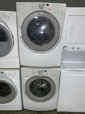 WHIRLPOOL FRONT LOADING WASHER DRYER ELECTRIC SET for Sale in Vancouver, WA