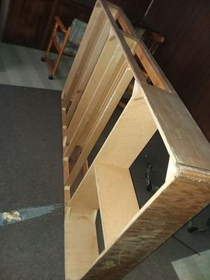 Bed frame 2 big storage drawers for Sale in Mandan, ND