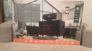 Bno acoustics 5.1 HD series professional home theater system with bluetooth and FM digital tuner for Sale in Fresno, CA