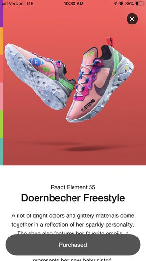 React 55 doernbecher for Sale in Chicago, IL