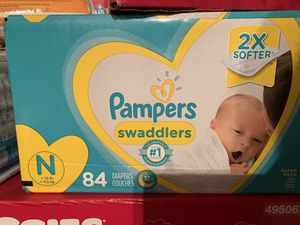 Pampers 84 count for newborn for Sale in Chula Vista, CA