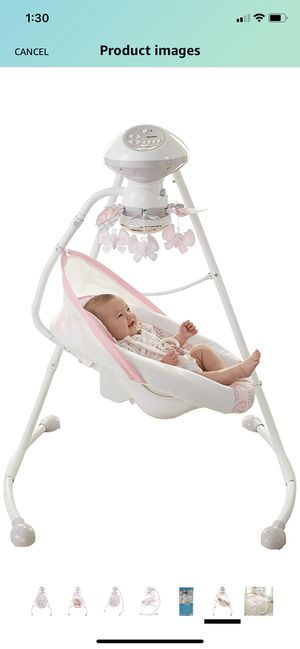 Fisher price baby girl swing for Sale in Portland, OR
