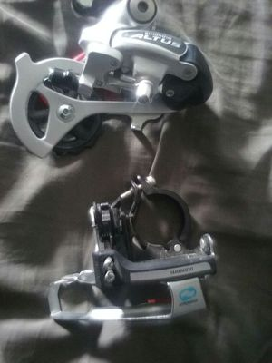 Brand new front and rear derailed by shimano for Sale in Detroit, MI