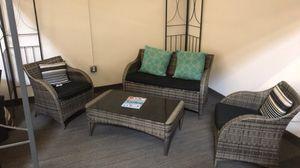 4pc Outdoor Wicker Rattan Patio Furniture Set - Brand New for Sale in Escondido, CA
