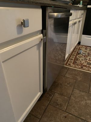 All Kitchen Appliance + White beautiful Cabinets - like new for Sale in Sudley Springs, VA