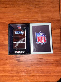Brand New Seattle Seahawks authentic Zippo lighter for Sale in Silverdale,  WA