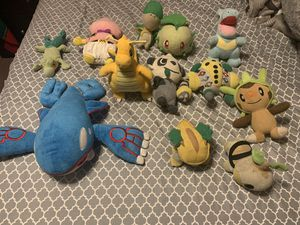 Pokémon plushies for Sale in Chicago, IL