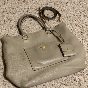 Prada vitello daino pomice tote Bag for Sale in Macomb, MI