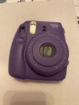 Instax mini 8 Polaroid camera purple for Sale in Plant City, FL