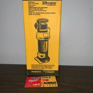 NEW 20V DRYWALL CUT-OUT-TOOL (TOOL ONLY) NO BATERIA-NO CARGADOR --PRECIO FIRME-FIRM PRICE for Sale in Dallas, TX