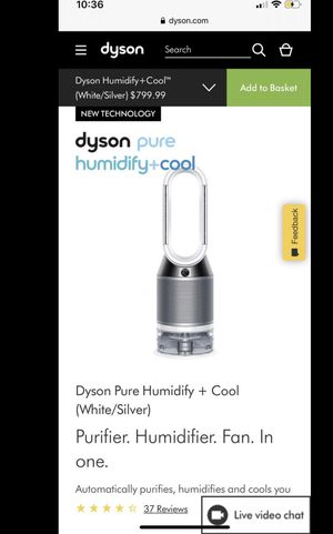 Dyson air purifier + heater/cooler for Sale in Chicago, IL