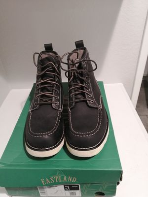 Brand new Eastland work boots for men. Size 8. Soft toe. for Sale in Riverside, CA