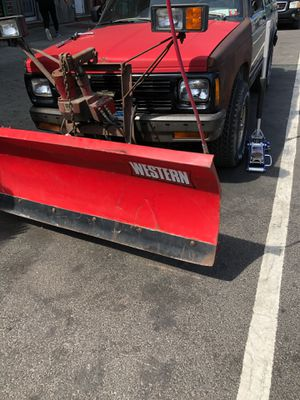1993 Chevy blazer with western snow plow for Sale in New York, NY
