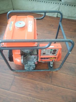 KUBOTA AE3500 GENERATOR 120V Rated 3000VA Max3500VA Made in JAPAN for Sale in Cerritos, CA