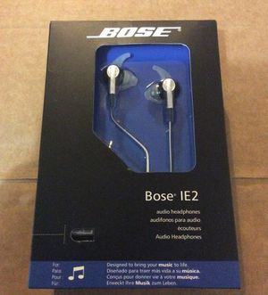 Bose ie2 headphones for Sale in Hyattsville, MD