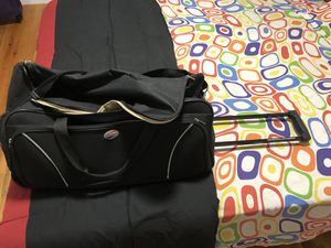 American Tourister,Duffle Trolley Bag,25inches,bought just a year back,for sale for Sale in Montville, NJ