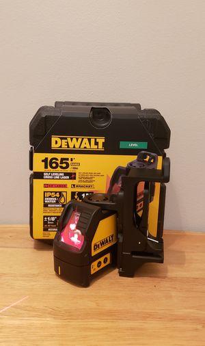 New Red Level laser Dewalt (2) Line FIRM PRICE for Sale in Woodbridge, VA