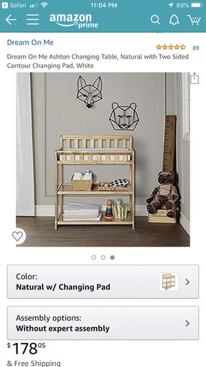 Dream On Me Changing Table with Pad for Sale in Fremont, CA