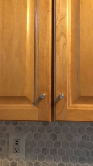 Kitchen cabinet drawer pull knobs for Sale in Alexandria, VA