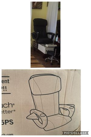 pedicure armchair with spa ,sillón de prdicure nuevo de paquete en su caja ,cuesta 2700 yo lo vendo por 1000 . for Sale in Miami, FL