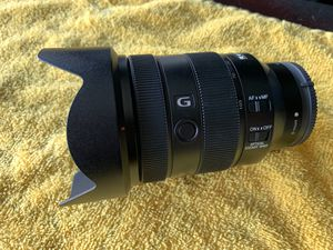 Sony G 24-105mm f/4 oss for Sale in Ontario, CA