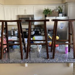 3 Barstools, Bar Height for Sale in Whittier,  CA