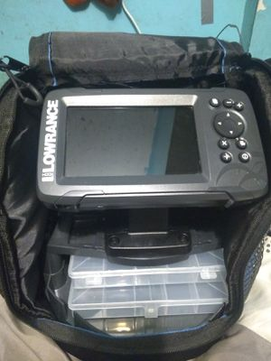 Lowrance fish finder for Sale in Otter Lake, MI