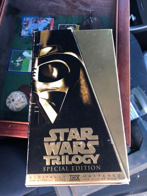 Star Wars Trilogy (VHS, 1997, Special Edition) for Sale in Castro Valley, CA