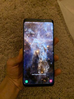 Samsung galaxy s9plus for Sale in Reston, VA