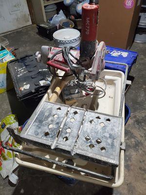 Mk 770 tile machine for Sale in Kansas City, KS