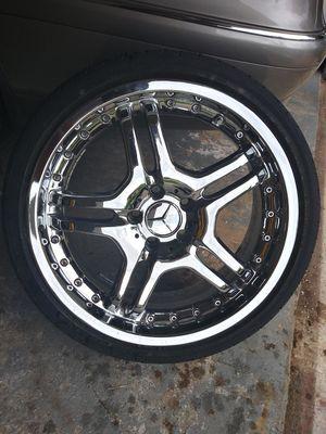 Mercedes-Benz Chrome Rims for Sale in Watauga, TX