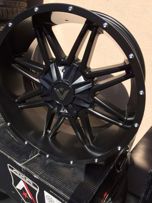 "20"" jeep 🚙 off-road wheels on sale for Sale in Anaheim, CA"