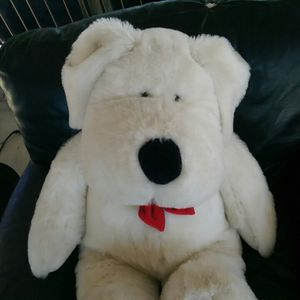 White polar bear with red bow tie for Sale in Los Angeles, CA