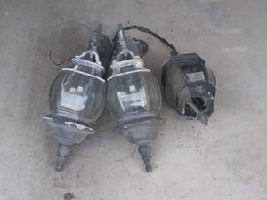 Out door commercial grade lights for Sale in Chuckey, TN