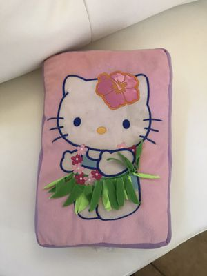 Hello Kitty pillow and mink blanket for Sale in Las Vegas, NV