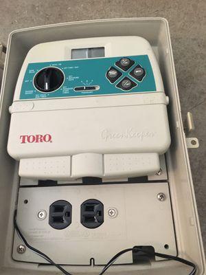 Toro greenkeeper sprinkler controller with outdoor box for Sale in San Ramon, CA