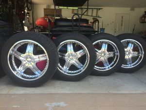 Rims fit Chevy & GMC for Sale in Sebring, FL