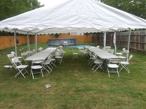 Renta Tent/carpa 20x20 for Sale in Duncanville, TX