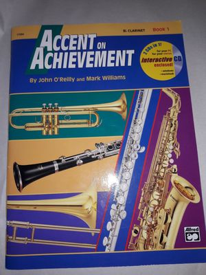 Clarinet Music Book And Disc. for Sale in Orange Park, FL