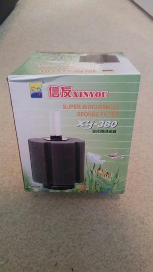 Aquarium fish tank bottom filter sponge xy380 for Sale in Lynnwood, WA