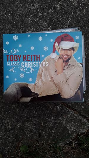 Toby Keith Christmas CD 2 piece set for Sale in Woodhaven, MI