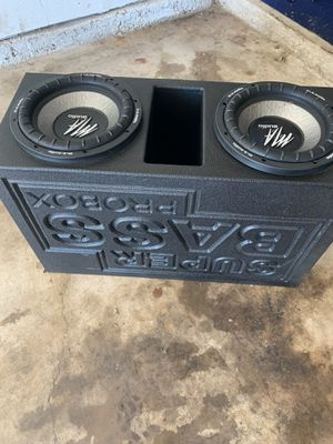 MA Audio 10s and pro box for Sale in Keller, TX