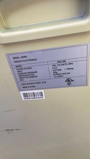 Daewoo dehumidifier for Sale in Sunrise, FL