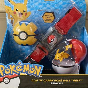 Pokémon Clip And Carry Poke Bal Set! for Sale in North Augusta, SC