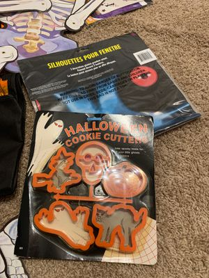 Bag of Halloween decorations for your house apartment or dorm for Sale in Rockville Centre, NY