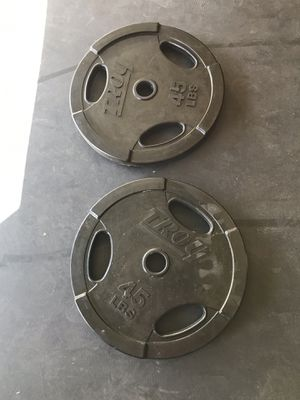 Rubber coated weights for Sale in Las Vegas, NV
