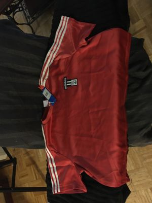 Adidas Women's XL Red Crop Top for Sale in The Bronx, NY