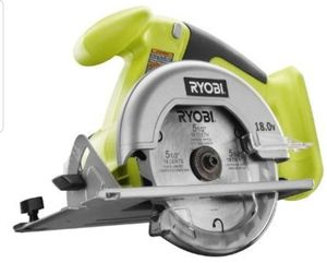 Ryobi One 18V Cordless 5 1/2 Inch Circular Saw (Tool Only) Retail 55, Now 35 for Sale in Tucson, AZ