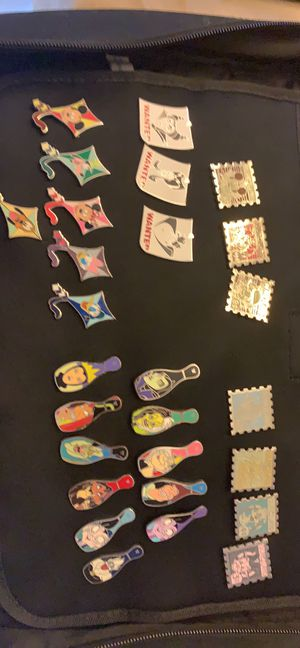 Lot of 27 disney pins from collection - hidden mickeys for Sale in Cary, NC