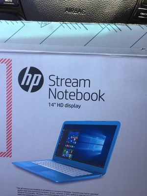 14Inch Hp Stream NoteBook for Sale in Cleveland, OH